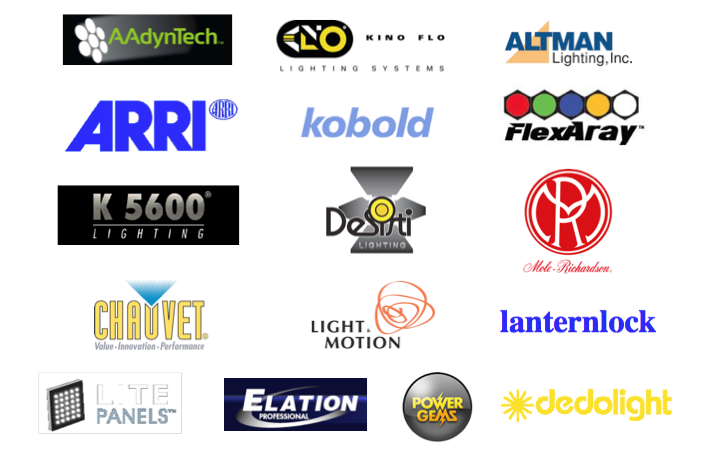 These Are Some Of The Lighting Manufacturers That We Distribute